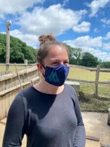 Animal Aunts face mask